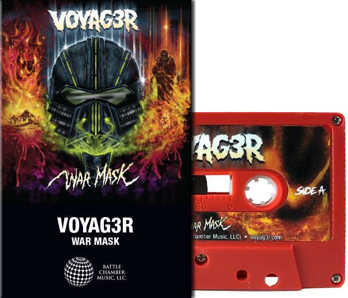 voyag3r-war-mask-red-cassette
