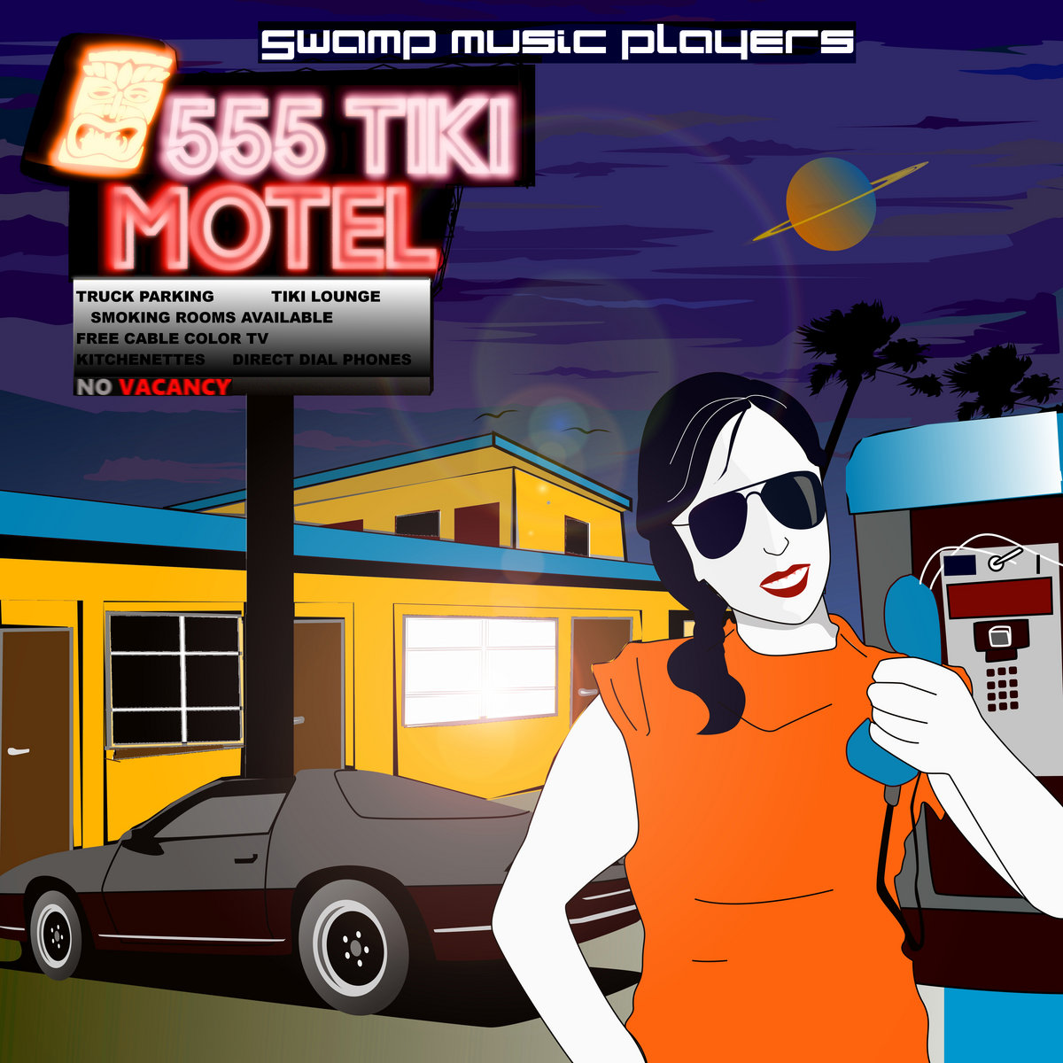 swamp music players - 555 tiki motel
